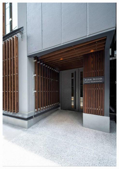 No.131_02_「PARK WOOD office iwamotocho 」_写真提供:三菱地所㈱・㈱久保工・㈱三菱地所設計